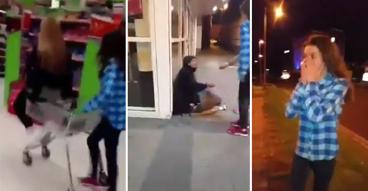 Teenage Girls Spend Last £15 Buying Homeless Man Blankets And Food UNILAD FaceThumb51945