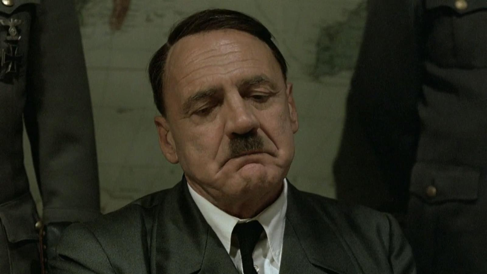 New York Times Asks Could You Kill Baby Hitler? Internet Responds Accordingly UNILAD Hitlers long face   sad face83510