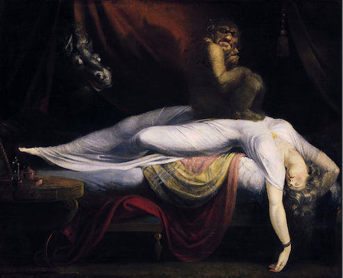 What Are Your Experiences With The Sleep Paralysis Demon Like? UNILAD John Henry Fuseli   The Nightmare3