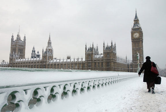 Britain Set For A White Christmas? 36 Days Of Snow Forecast UNILAD Katy Redmond57263