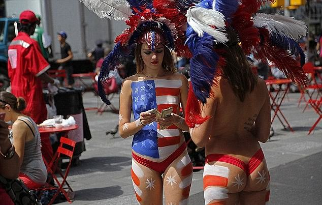 Times Square Topless Ladies Will Fight Citys Attempts To Move Them On UNILAD Micah SchmidtDaily Mail13