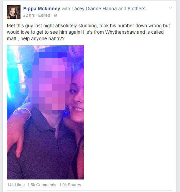 Girl Behind Facebook Cheat Appeal Tells Her Side Of The Story UNILAD Pippa McKinney3