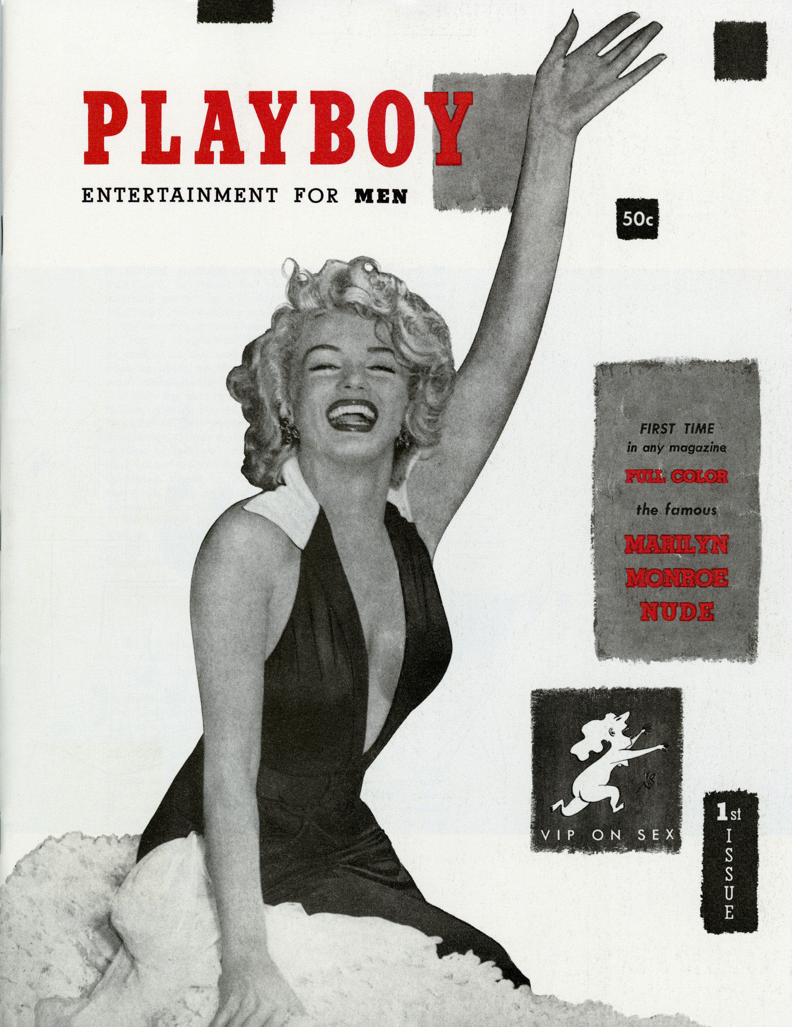 Here Are The 10 Most Iconic Playboy Centrefolds UNILAD Playboys 1953 debut featuring Marilyn Monroe6
