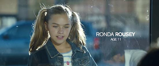 Incredible UFC Promo Video Shows Ronda Rouseys Early Life UNILAD Ronda2