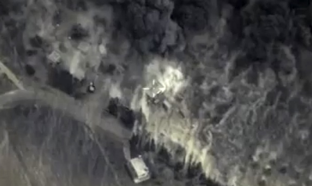 This Terrifying Footage Shows Russias First Night Air Strikes In Syria UNILAD Screen Shot 2015 10 02 at 03.02.115