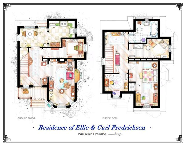 Someone Has Drawn The Floorplans Of Popular TV Show Apartments UNILAD Screen Shot 2015 10 04 at 20.21.264