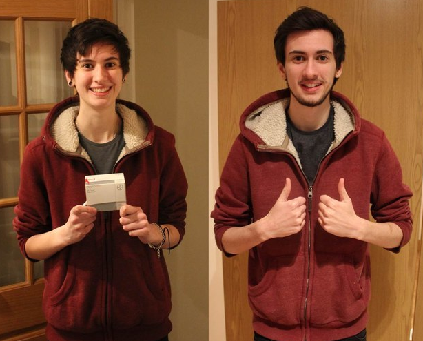 Transgender Man Documents Transition With Three Years Worth Of Selfies UNILAD Screen Shot 2015 10 08 at 01.40.133