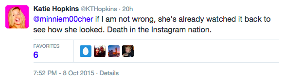 Serial Cunt Katie Hopkins Slams Killed Police Officers Family UNILAD Screen Shot 2015 10 09 at 15.33.2416