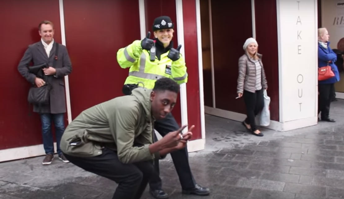 These Lads Managed To Get A Policewoman To Ride An 'Illegal' Swegway UNILAD Untitled 123292