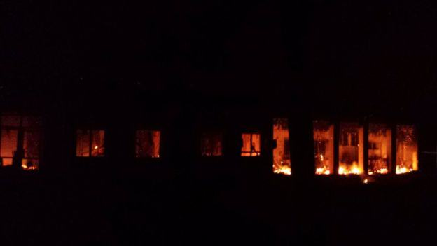 U.S. Army May Have Bombed Doctors Without Borders Hospital In Afghanistan UNILAD air strike hospital 13