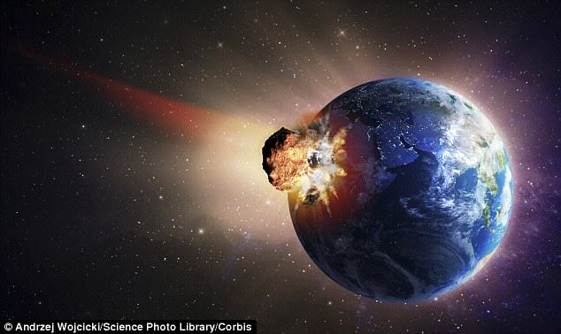 NASA Says A Huge Asteroid Will Just Miss Earth On Halloween UNILAD asteroid hit65617