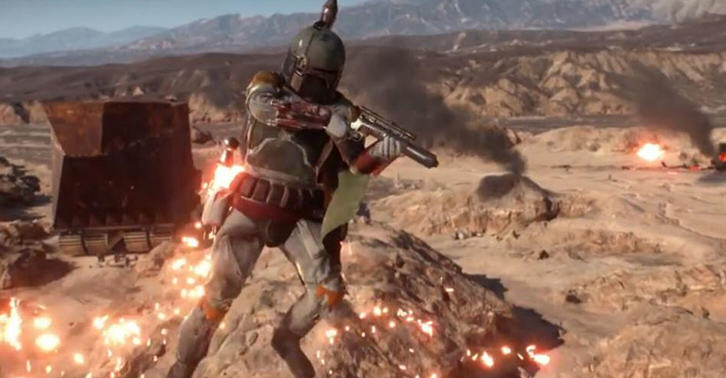 Boba Fett Isnt In The Battlefront Beta, But His Voice Files Are UNILAD boba32