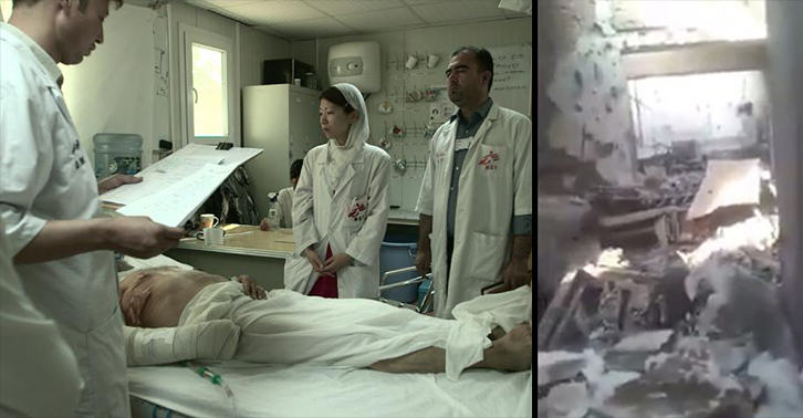 Haunting Video Compares Before And After Footage Of Bombed Afghanistan Hospital UNILAD bombing footage 34