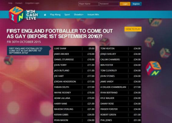 Deplorable Bookies Start Taking Odds On Which Gay Footballers Will Come Out UNILAD bookies 1024x7302242