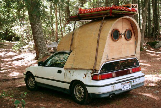 These Amazing Cabins Will Make You Want To Quit Your Job And Move UNILAD car13