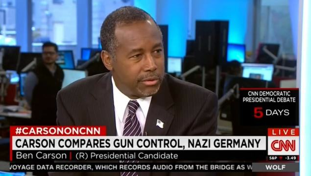 Republican Presidential Hopeful Claims Holocaust Wouldnt Have Happened If Jews Had Guns UNILAD carson5