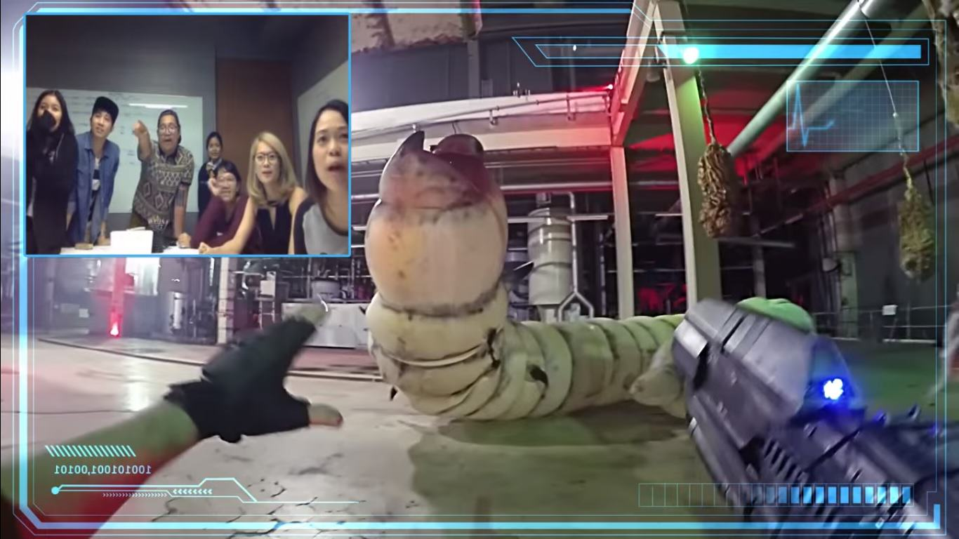 Interactive First Person Shooter Streamed Live On Chatroulette Looks So Cool UNILAD chat46470