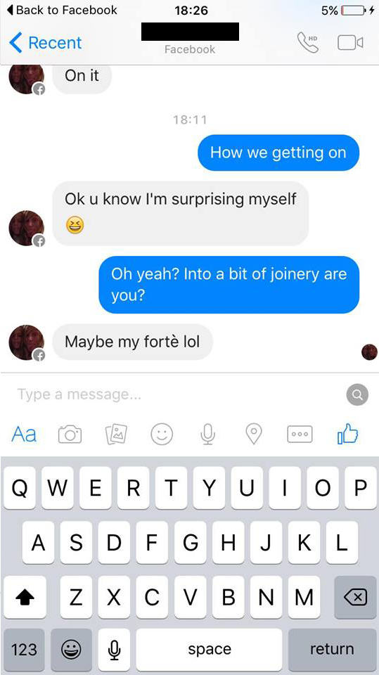 Woman Tries To Sell Broken Sofa, Guy Teaches Her Epic Lesson UNILAD couch troll new 883599