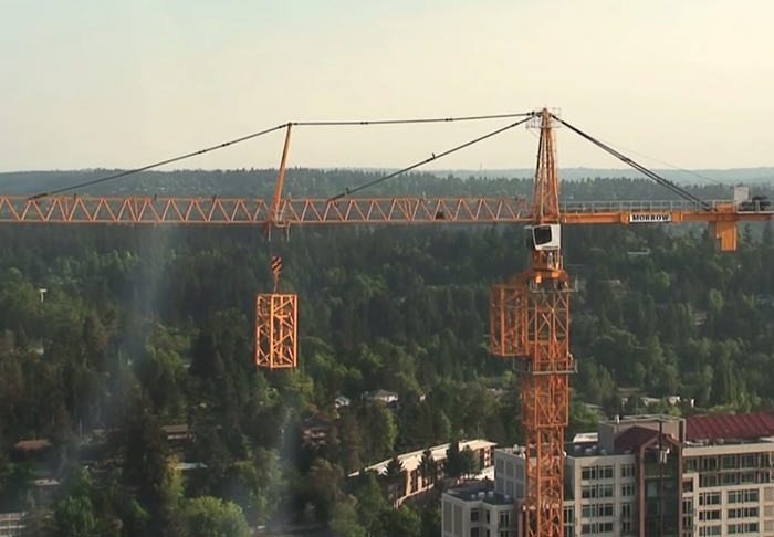 This Giant Crane Builds Itself In Cool Timelapse Footage UNILAD cranethumb5366
