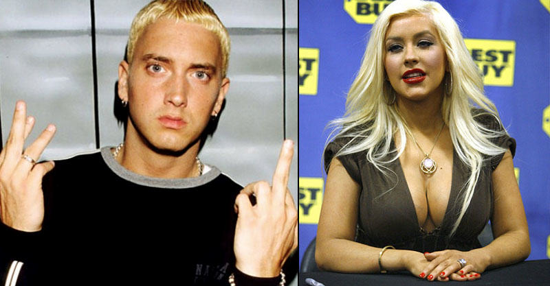 Why Eminem Dissed Christina Aguilera On The Real Slim Shady UNILAD cris7