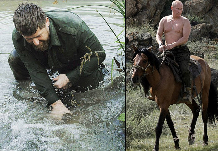 President Of Chechnya Releases Weird Crocodile Wrestling Video UNILAD croc48