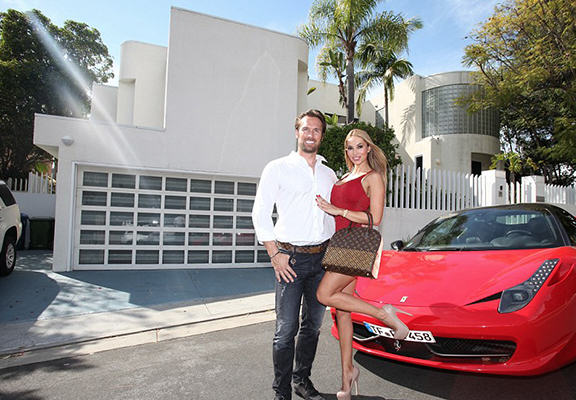 This German Tycoon Splashes $100,000 A Month In LA UNILAD cunt yes4