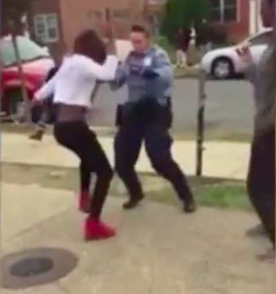 Footage Of Cop Breaking Up Brawl By Starting Dance Off Goes Viral UNILAD danceoff41978 401x426