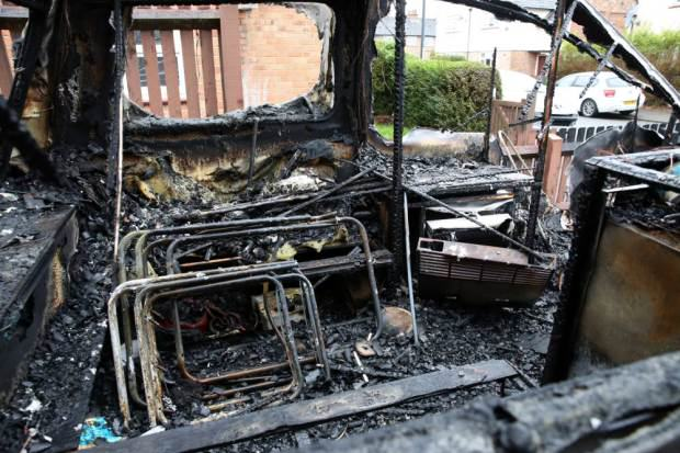 Heroic Dog Saves Family From Burning House After Arson Attack UNILAD dog arson 266208