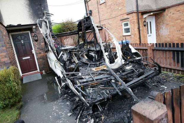 Heroic Dog Saves Family From Burning House After Arson Attack UNILAD dog arson179054