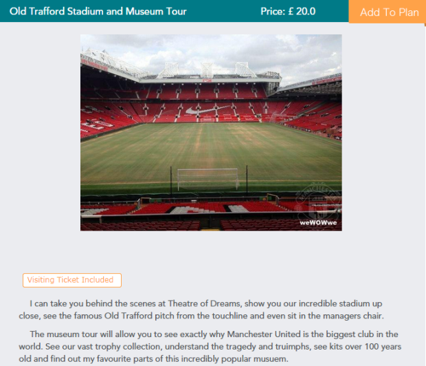 Manchester United Fan Charges Old Trafford Tourists £20 For Pub Trip UNILAD fan exp39198