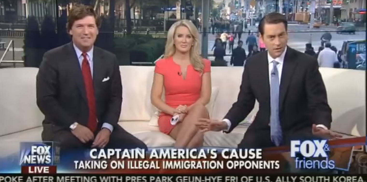 Fox News Arent Happy Captain America Is A Black Man Helping Migrants UNILAD fox captain america 155765