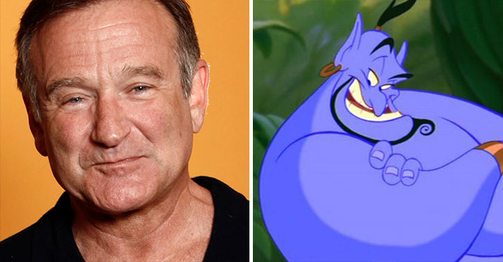 Incredible New Outtakes From Aladdin Show Robin Williams At His Manic Best UNILAD genie williams 33