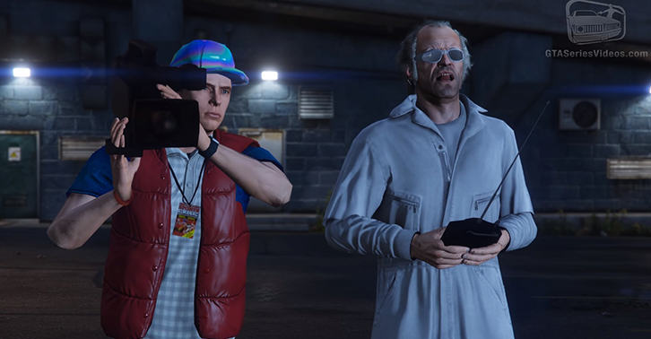 Back To The Future Recreated In GTA V Is Absolutely Amazing UNILAD gta215435646
