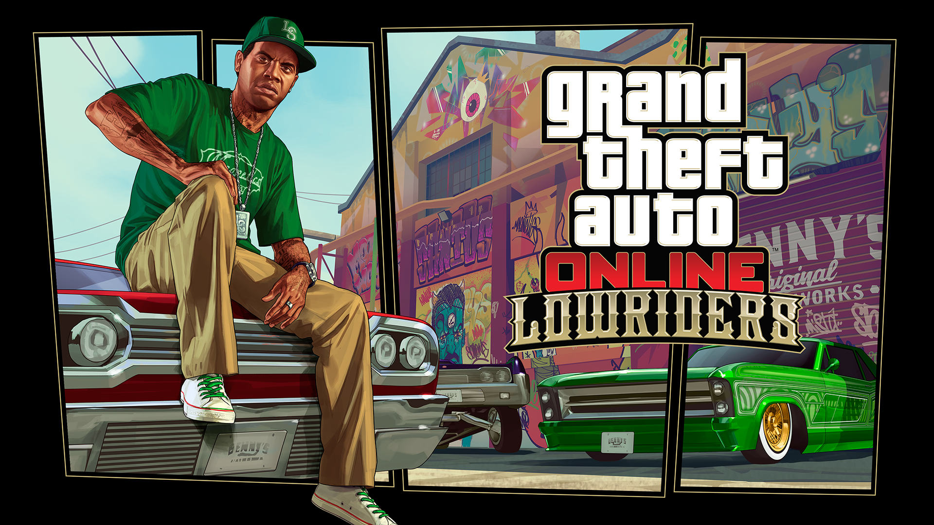 Lowriders Bounce Into GTA Online With Slick New Trailer UNILAD gtao lowriders 1920x108054936
