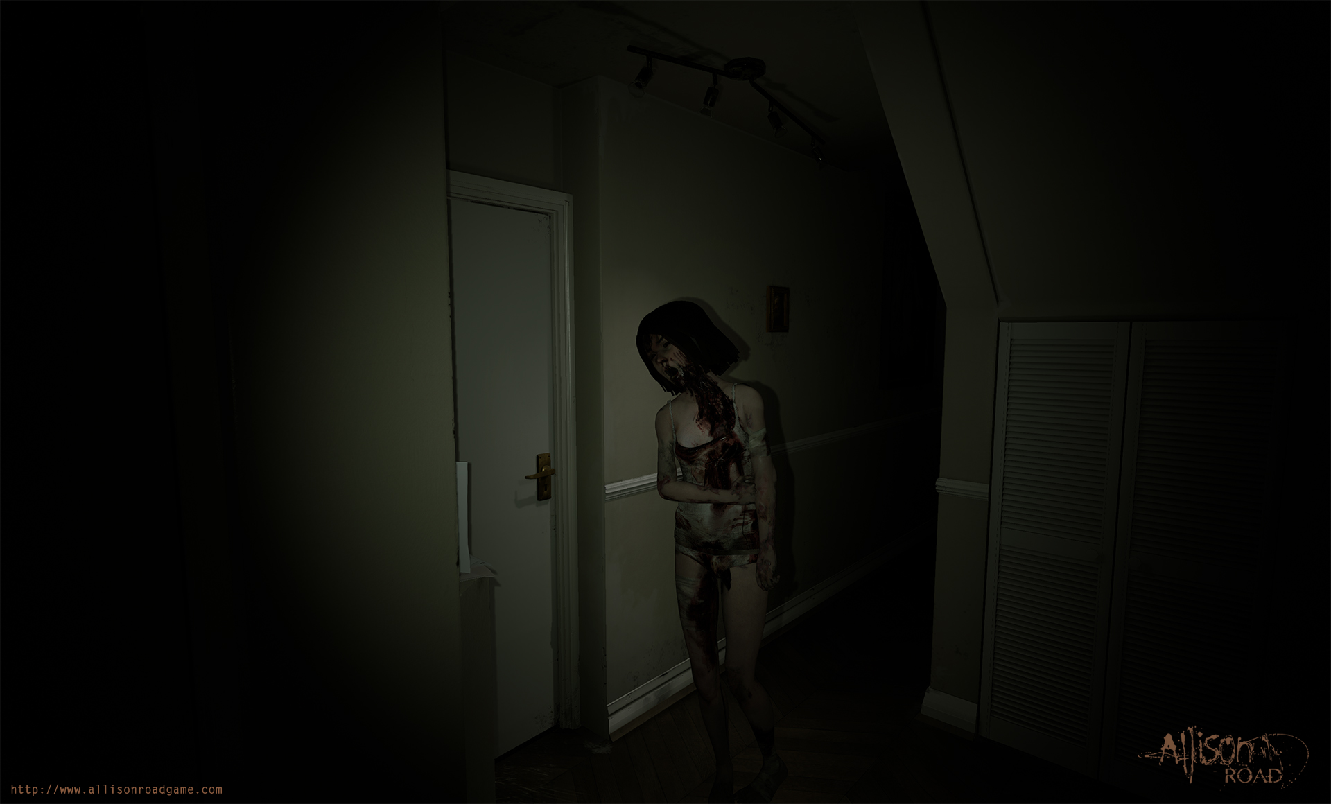 Allison Road Might Be The Horror Game Weve All Been Waiting For UNILAD hallway lily12