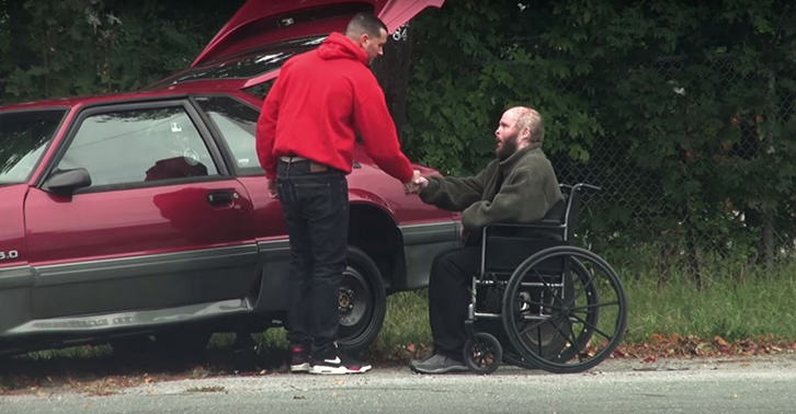 When This Guys Car Broke Down, Man Who Stopped To Help Had Incredible Story UNILAD incredible guy header5