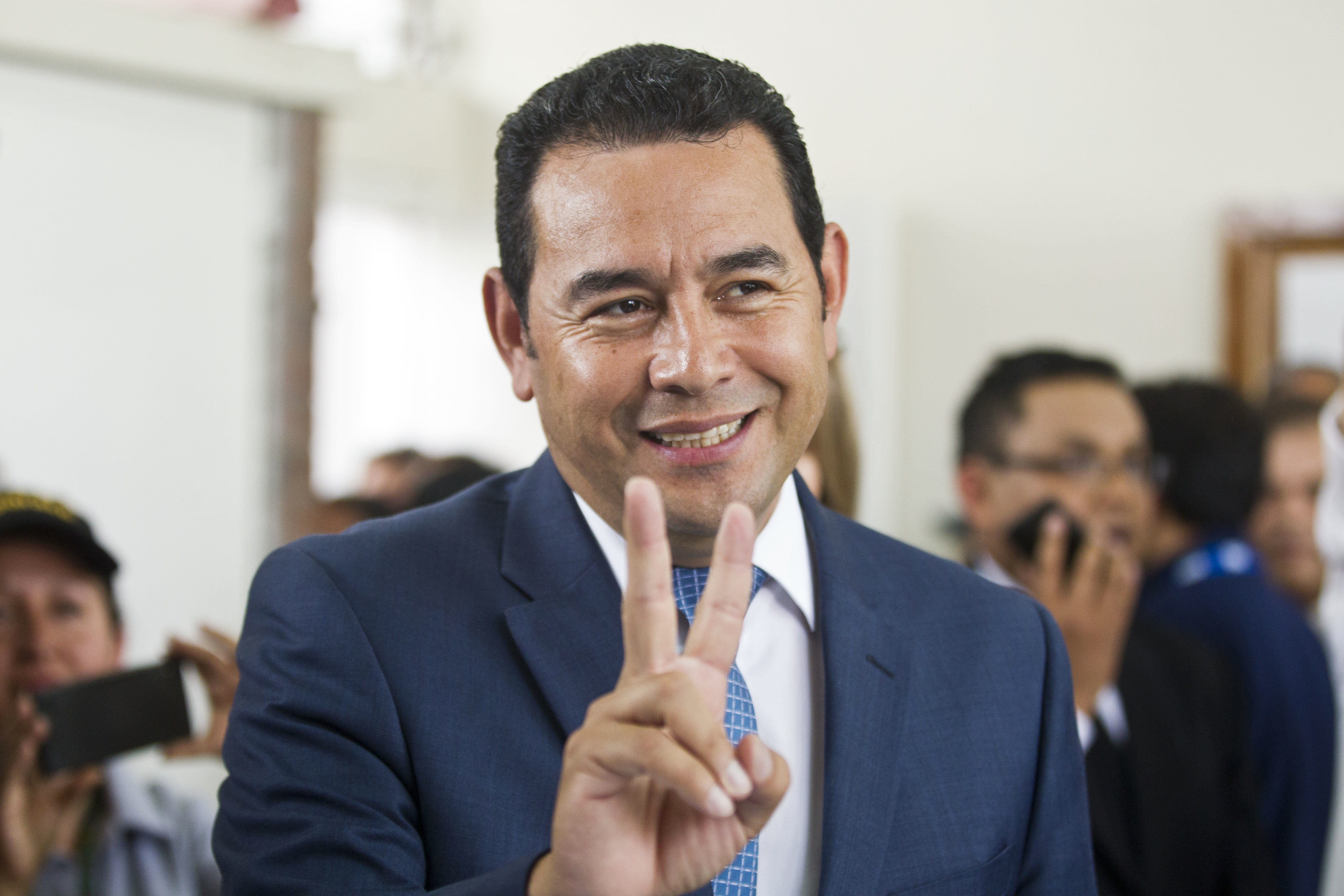 This Comedian Just Got Made President Of A Country UNILAD jimmy morales 174155