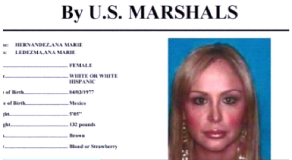 Meet Ana Marie Hernandez, A Mexican Cocaine Cartel Boss Busted On The Run UNILAD la muneca85449