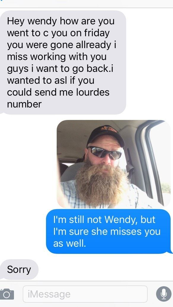 Bearded Man Wins The Internet With His Replies To These Accidental Texts UNILAD last24