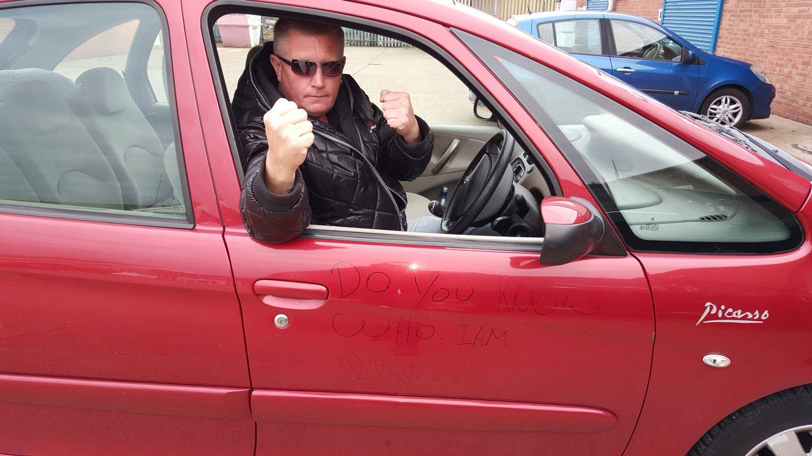 Road Rage Legend Ronnie Pickering Is Auctioning His Car Online UNILAD main68546