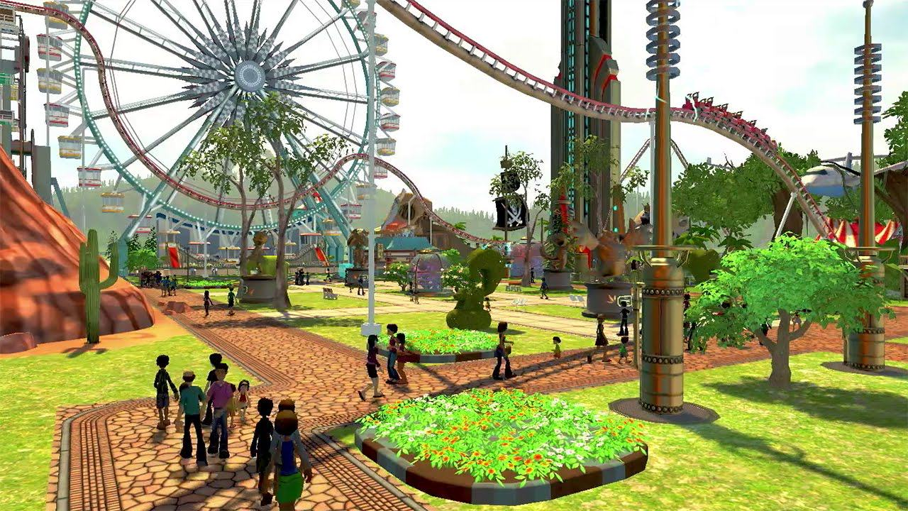 The Rollercoaster Tycoon World Beta Will Be Coming This Weekend