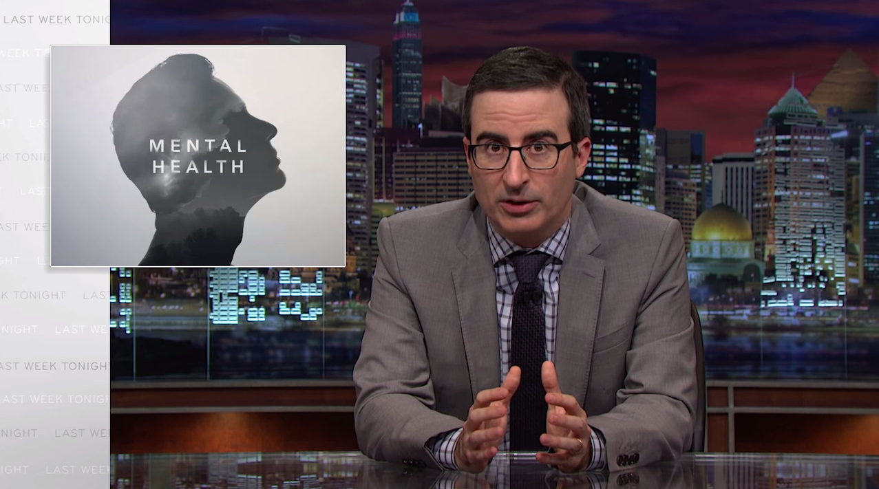 John Oliver Is P*ssed Off With Republicans Blaming Mass Shootings On Mental Illness UNILAD oliver mental health 14