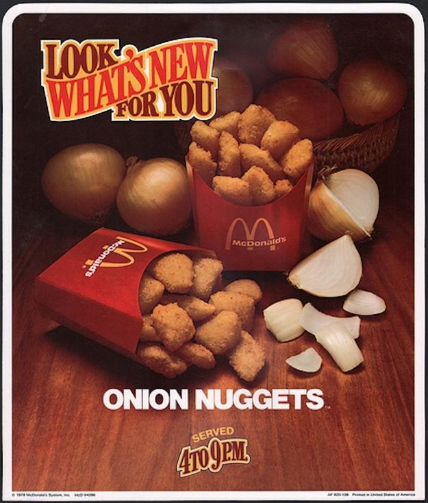 Discontinued McDonalds Food Items You Forgot Existed UNILAD onion4