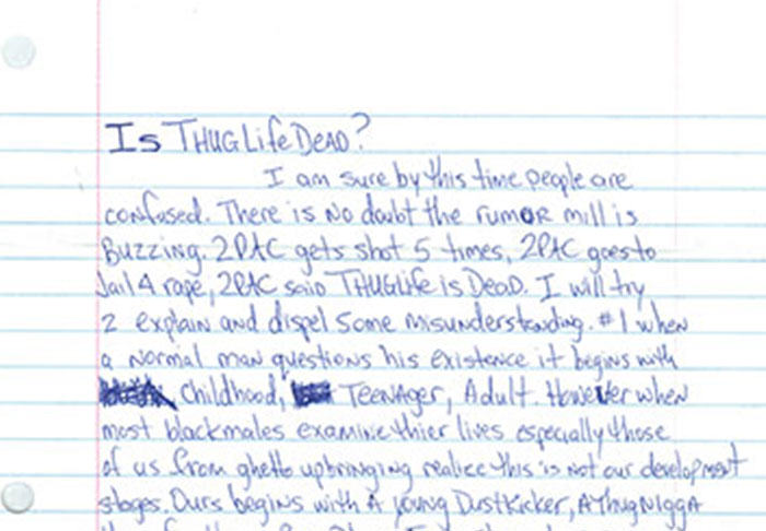 Letter Penned By Tupac From Prison Before His Death Is Leaked UNILAD pac2.16
