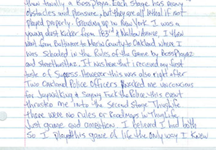 Letter Penned By Tupac From Prison Before His Death Is Leaked UNILAD pac2.28