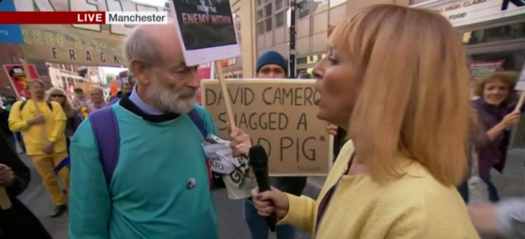 The Best Pig Related Signs At The Anti Tory Protests In Manchester UNILAD pig protest 18