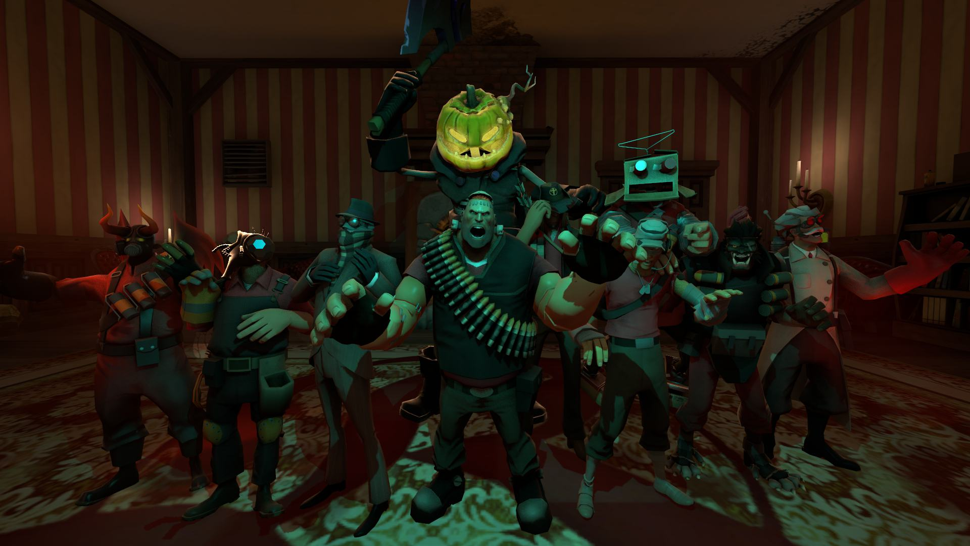 Team Fortress 2s Halloween Update Brings Back All Previous Spooky Events UNILAD scream fortress 2 by thebronygamer d5j4vfp57392