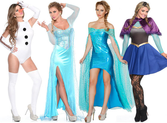 Here Are This Year's Most Predictable Halloween Costumes UNILAD sexy frozen halloween costume33925