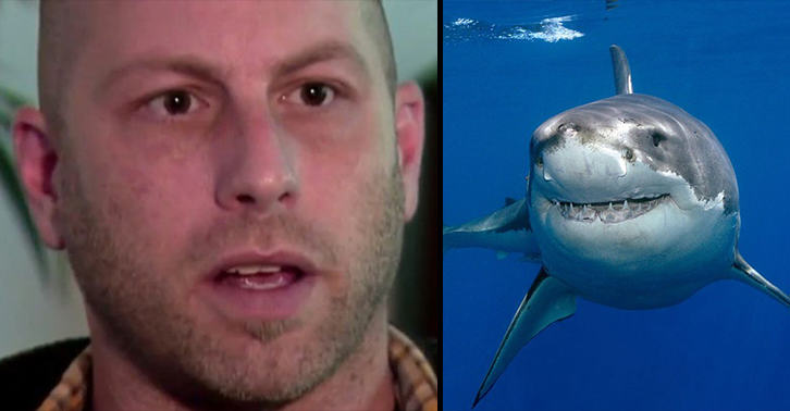 A Terrifying Shark Attack Actually Saved This Mans Life UNILAD shark save 33