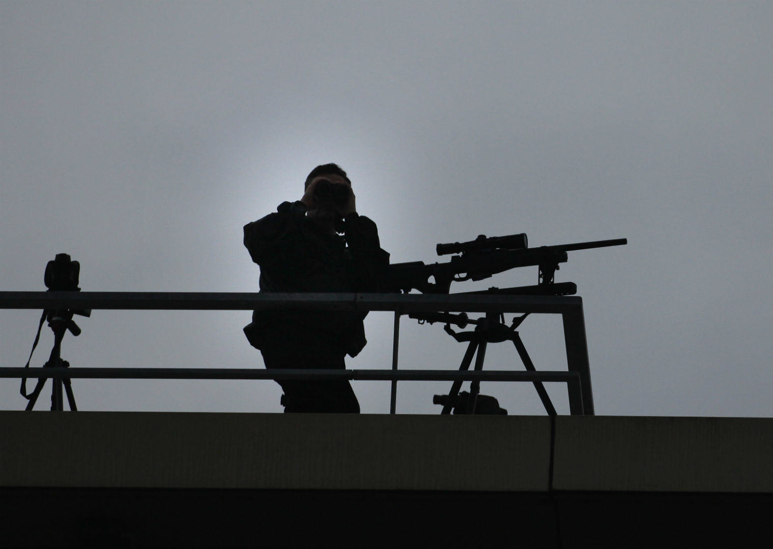 Manchester Police Gave A Bizarre Explanation For Armed Snipers At Anti Austerity Protest UNILAD snipers 25